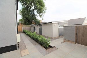 Single storey contemporary house, Newport