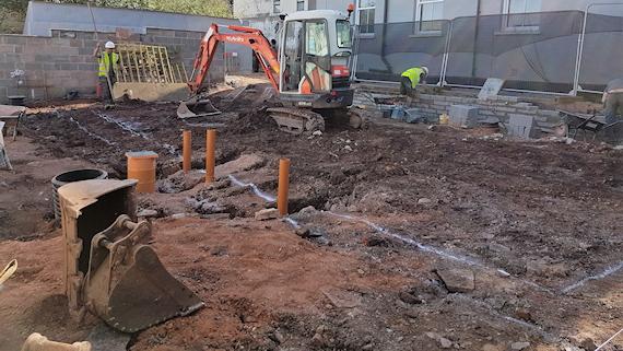Builder in Wales