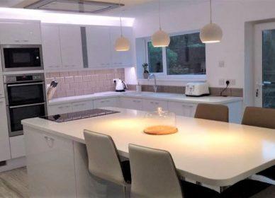 Kitchen transformation & refurbishment, Newport