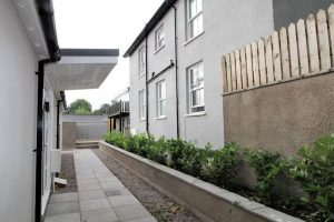 Newbuild housing development, Newport