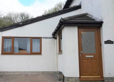 Garage conversion to accommodation, Undy