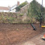 Millington barn end wall before