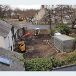 Millington barn over shot during