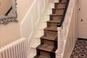 Period home restoration work, Newport