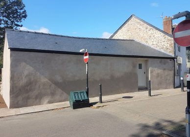 Listed building barn conversion, Magor