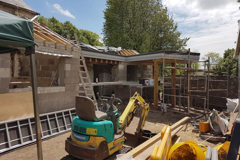 millington barn construction
