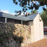 millington barn finished verge side